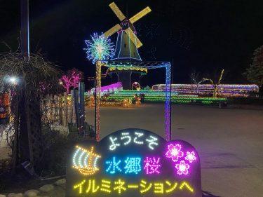 水郷桜イルミネーション
